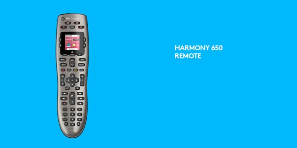 Too busy, too complex Logitech Harmony remote